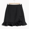 & other stories | sculpted frills skirt | black
