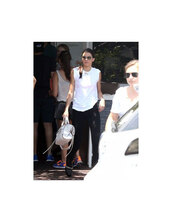 kendall jenner,shirt,white,bag
