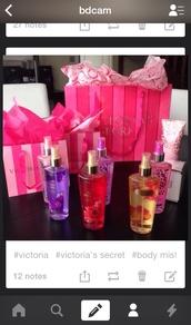 make-up,victoria's secret,perfume,girly,tumblr