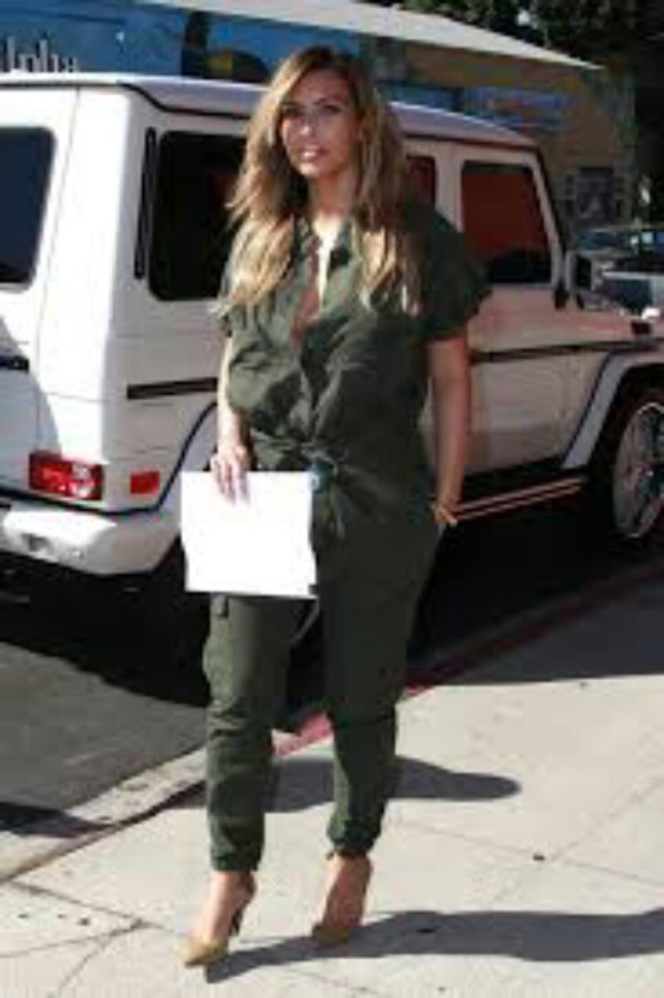 Jumpsuit: kim kardashian - Wheretoget