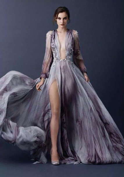 dress violet violet dress purple purple dress brand flowers floreal floreal dress nuance shade beaded jewels neckline long long dress boho dress grey grey dress
