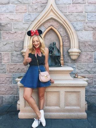 rach martino blogger top skirt shoes bag