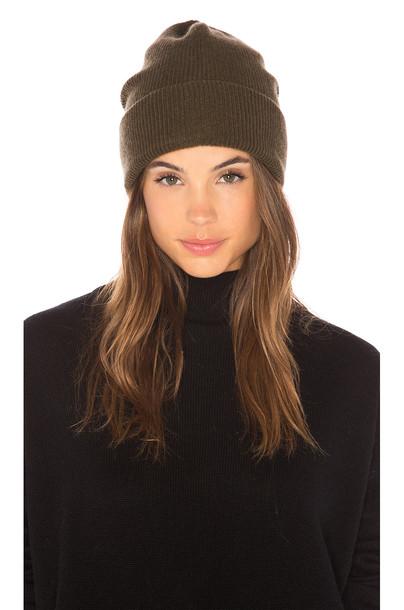 360CASHMERE beanie hat