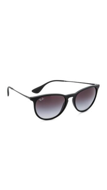 Ray-Ban Erika Sunglasses - Black/Grey Gradient