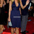 Empire Pleated Chiffon A-line Blue Halter Sexy Celebrity Dress - Promdresshouse.com