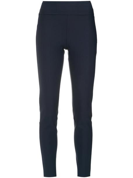 EGREY women spandex blue pants