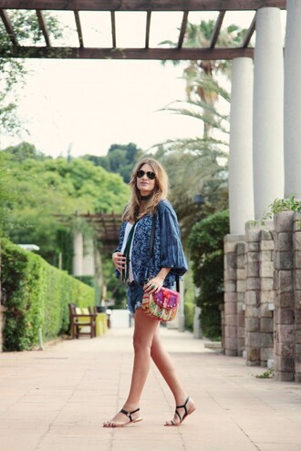 my daily style jacket shoes bag shorts
