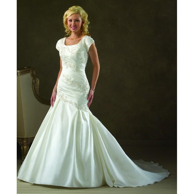 Bonny Bliss 2103 Modest Mermaid Wedding Dress - Crazy Sale Bridal Dresses|Special Wedding Dresses|Unique 2017 New Style Dresses