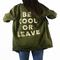 Stillwater be cool or leave military shirt jacket