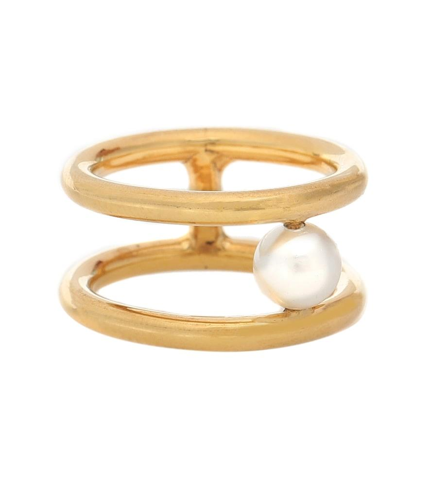 Exclusive to Mytheresa – Hub gold vermeil ring