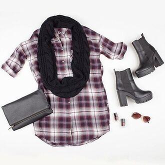 dress angl style plaid tunic plaid plaid top plaid dress button up tunic button up dress angl angl clothing
