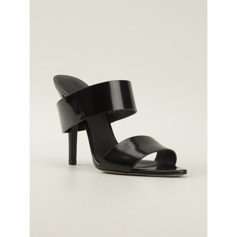 Alexander wang masha leather mules, alexander wang sling back shoes, alexander wang heels, designer shoes, start london