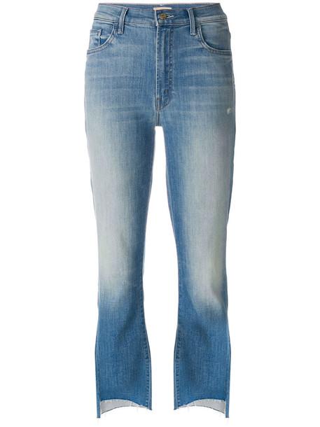 Mother jeans women spandex cotton blue