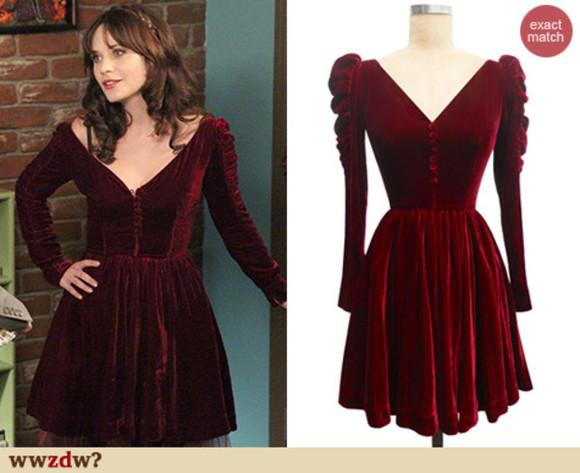 red dress blogger velvet christmas dress