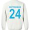 September 24 sweatshirt