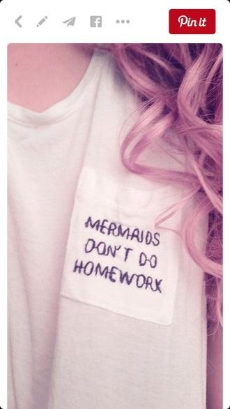 t-shirt shirt mermaid flannel shirt