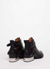 shoes,black,metal heel