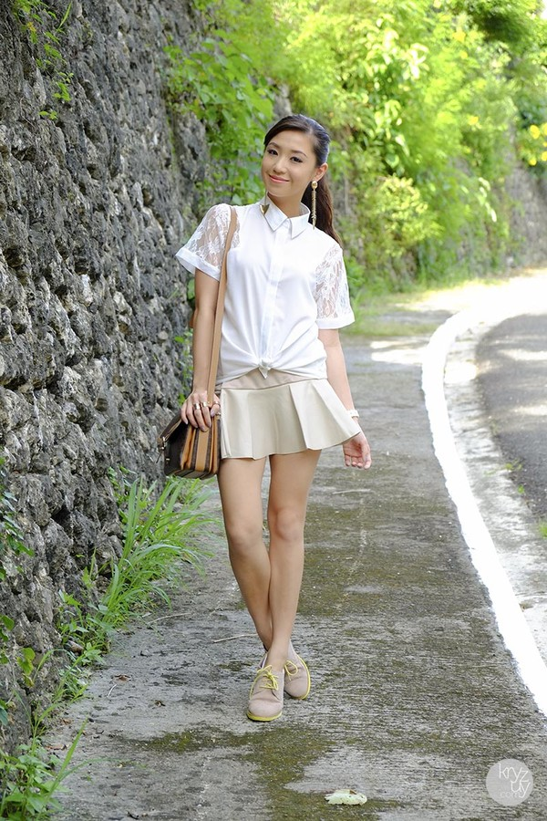 kryzuy t-shirt jewels skirt bag blouse shoes