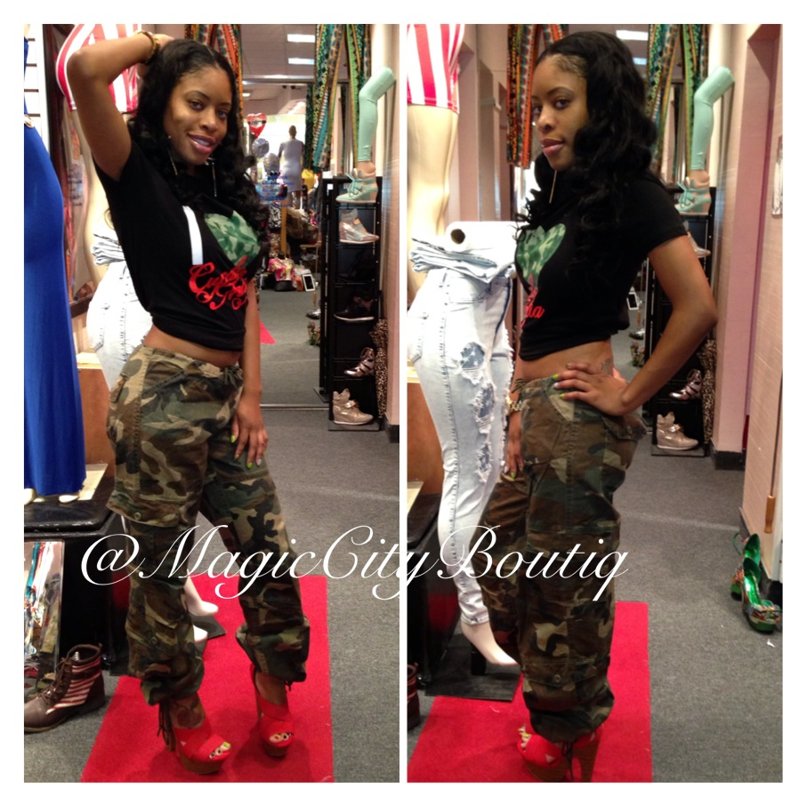 Magic city boutique — women army pants
