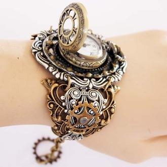 jewels gears copper bronze