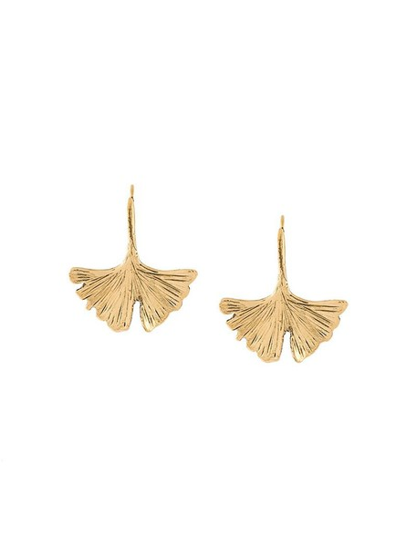 AURELIE BIDERMANN women earrings grey metallic jewels