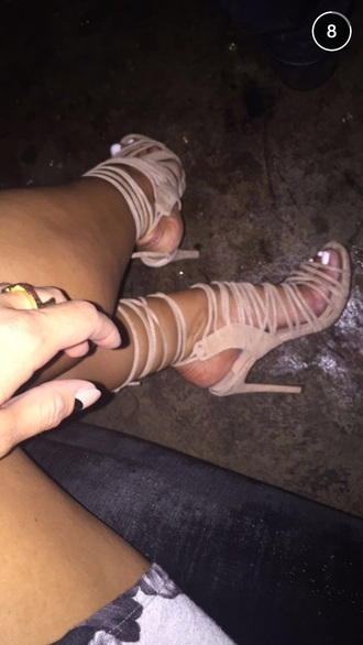 shoes nude heels sandals nude high heels high heels high heel sandals chloe morello