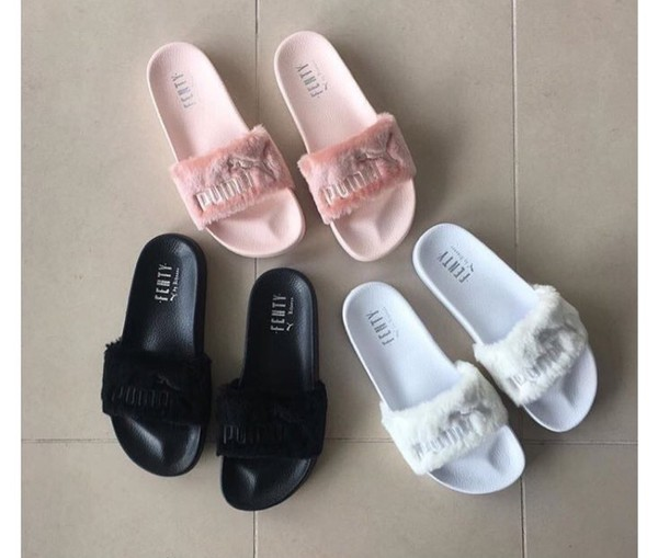 abe9c466af8c Fur Slide by FENTY Women s Sandals
