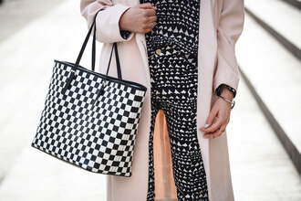 cheyenne meets chanel shoes bag pants t-shirt jacket