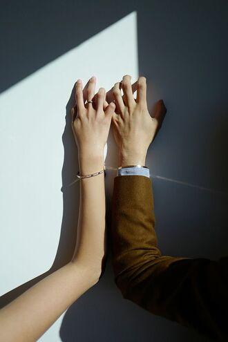jewels tumblr jewelry gold jewelry cuff bracelet bracelets gold bracelet ring gold ring wedding accessories wedding couple