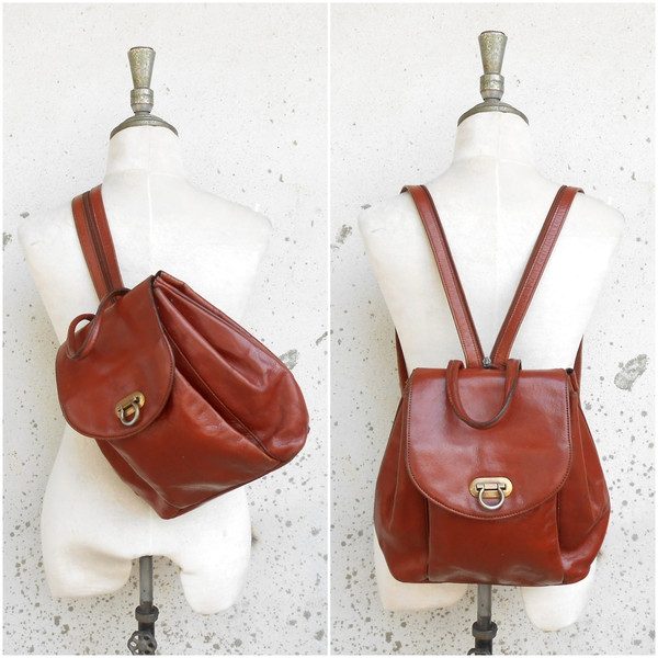 bag backpack bag leather backpack vintag leather backpack sling bag sling backpack slingbacks vintage