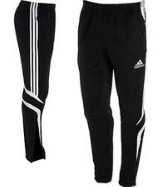Adidas Soccer Tiro Training Pants Black s Football Warm Up Training | eBay