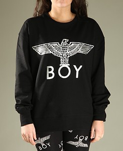 Womens Boy London Eagle Print Sweatshirt Jumper Top | eBay