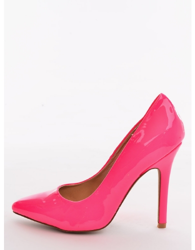 Neon Pink Love Potion Pointed Toe Heels  | $10.00 | Cheap Trendy Heels and Pumps Chic Discount Fashi