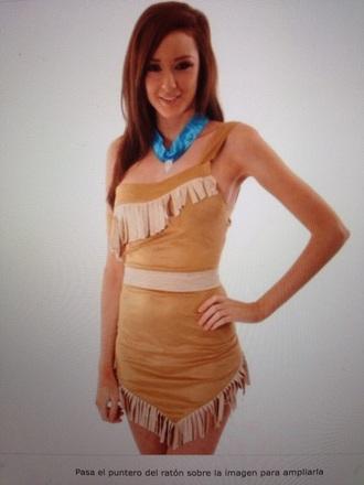pocahontas dress costume