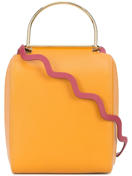 Roksanda women bag leather yellow orange