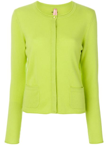 Marc Cain cardigan cardigan women classic green sweater