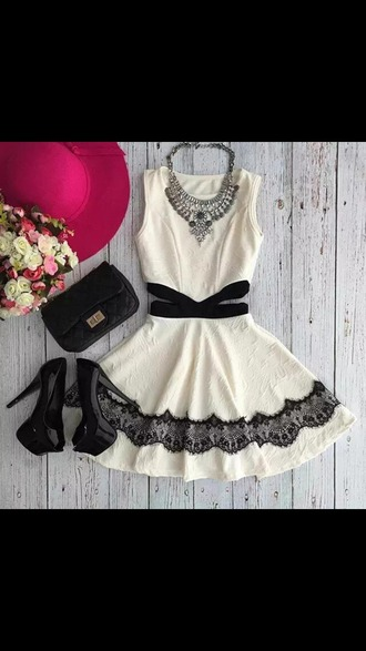 dress black and white black dress white dress black and white dress black lace lace dress dressy