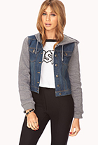 Easy Denim Jacket | FOREVER21 - 2040782311