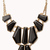 Angular Gemstones Necklace | FOREVER21 - 1015035866