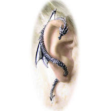 The Dragon's Lure Gothic Stud Earring by Alchemy Jewelry by Design Toscano