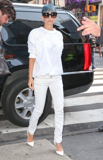 nicole richie pants shoes