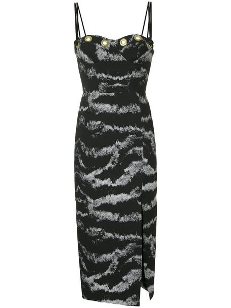 Manning Cartell dress women spandex black