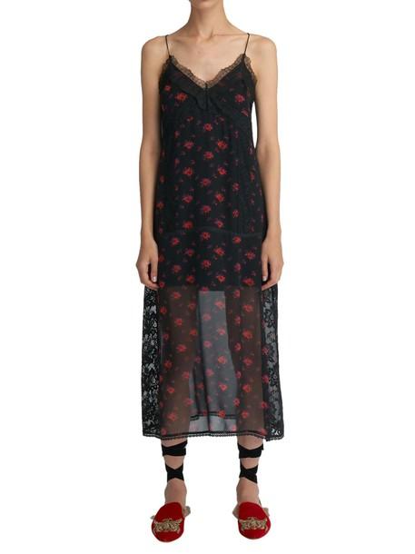 McQ Alexander McQueen dress lingerie dress black