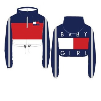 top blue red white tommy hilfiger crop top tommy hilfiger baby baby girl