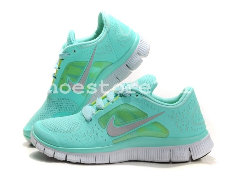 Nike Free Run 3 Women Lightweight Running Barefoot Athletic Shoes Mint UK3 UK7 | eBay