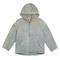 Shearling lined canvas jacket glacier