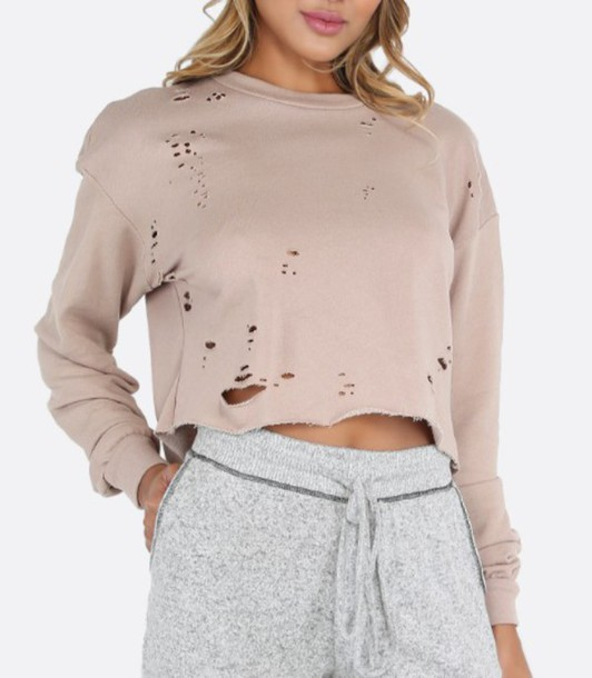 Top: girl, girly, girly wishlist, crop, crop tops, cropped sweater ...