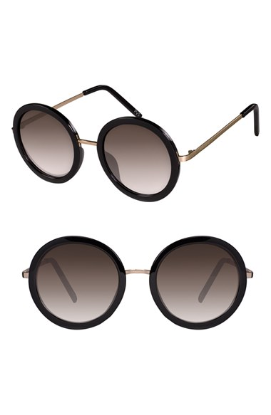 PERVERSE 'Catalina' 52mm Round Sunglasses | Nordstrom