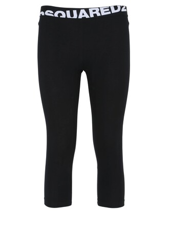 leggings cotton black pants