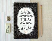bag,home accessory,notebook,quote on it,new years resolution,hipster,desk